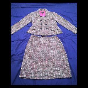 Connected Petite Skirt Suit Size 4P